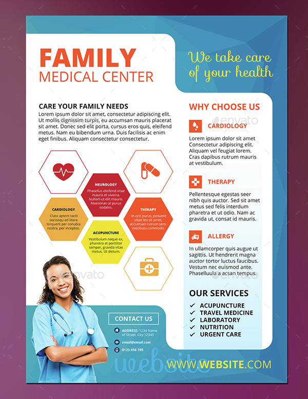 Health Care Medical Flyer
