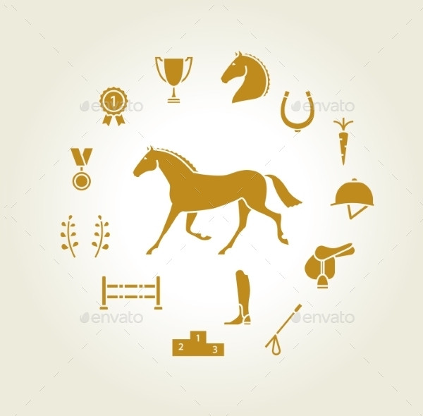 Horse Equipment Icons