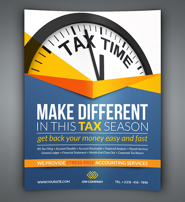27+ Income Tax Flyer Templates