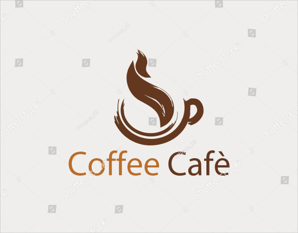 Coffee Cafe Drink Logo Template