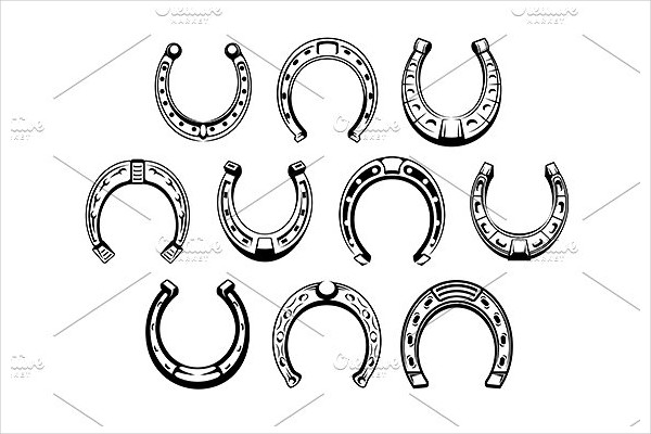 Lucky Horseshoes Icons