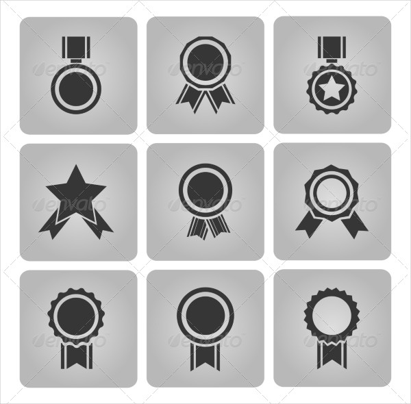 Medal and Award Icons