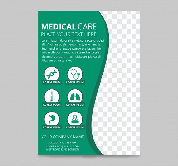 Medical Care Flyer Design Free Download