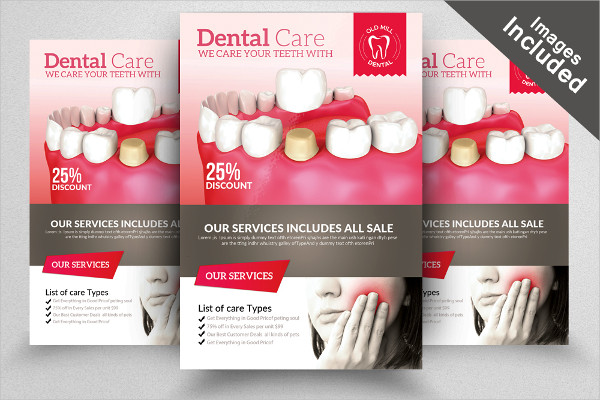 Medical Dental Flyer Design