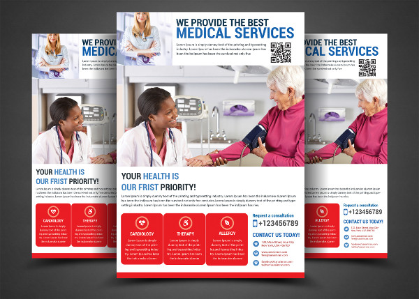 Medical Flyer Design Inspiration