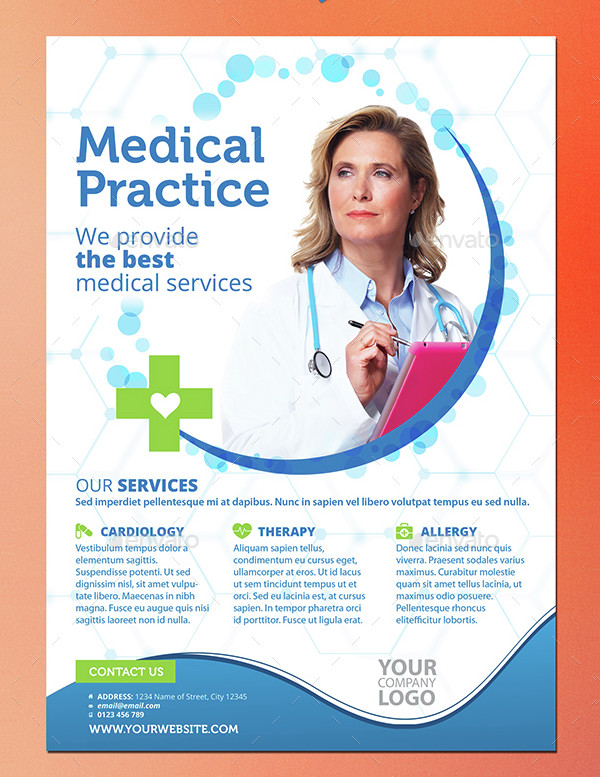 Unique Medical Practice Flyer