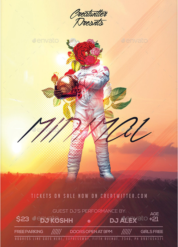 Minimal Autumn Poster Design