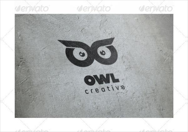 Owl Eyes Logo Template