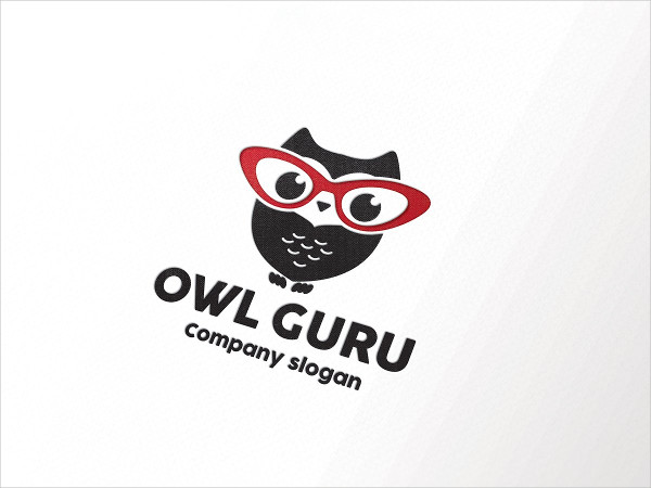 Owl Guru Logo Template