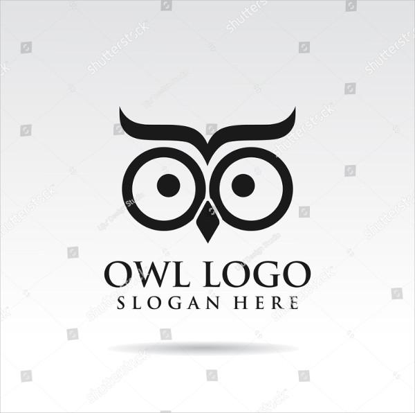 Owl Simple Logo Template Design