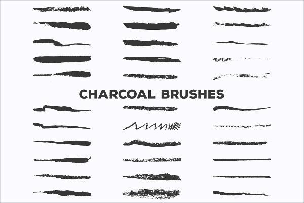 Pencil & Charcoal Illustrator Brushes