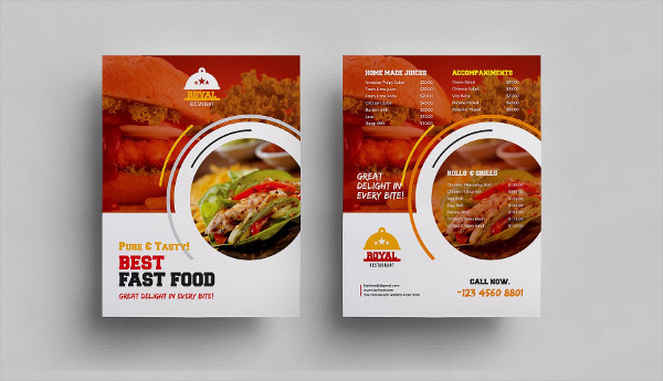 Food Basics Flyer Template