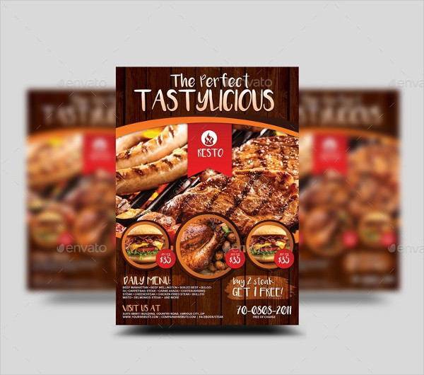Fast Food Bazaar Flyer Template