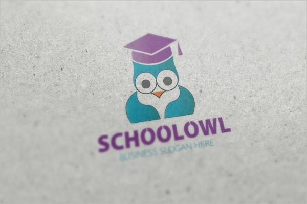 School Owl Logo