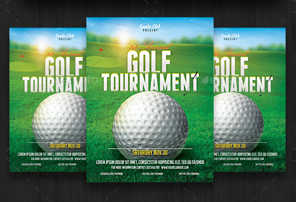 Golf Outing Flyer Template