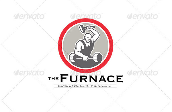 The Furnace Traditional Metal Workers Logo