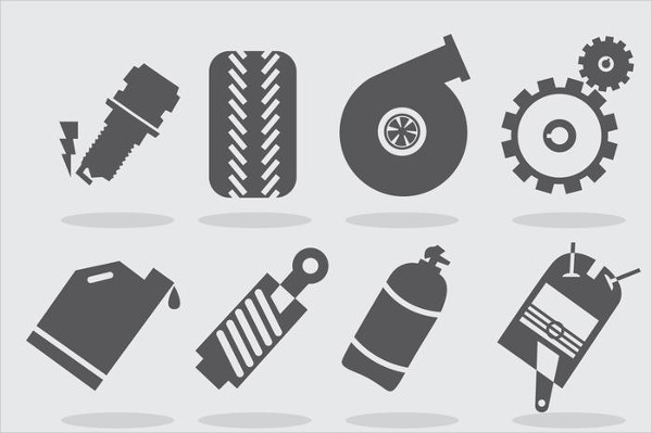 Turbo Engine Icons Free Download