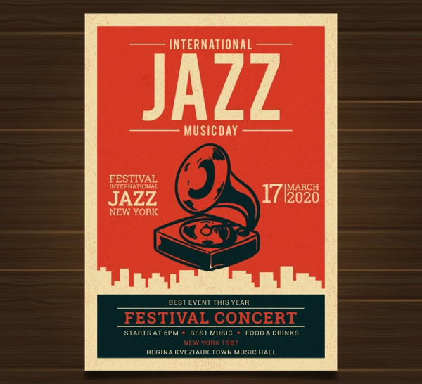 Vintage Concert Posters Free