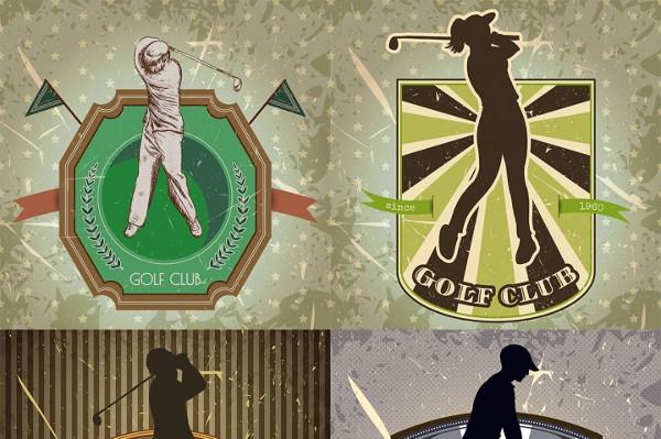 Vintage Golf Posters