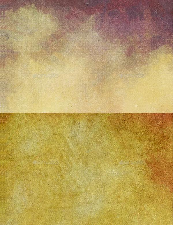 Vintage Halftone Watercolor Textures