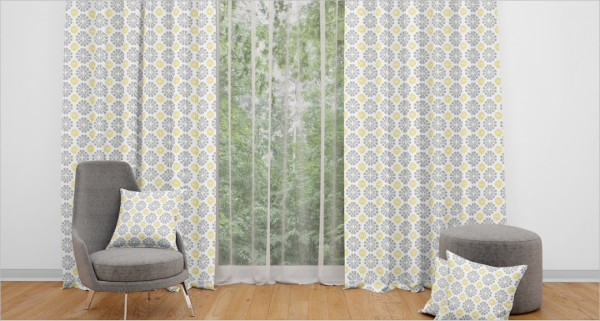 Door Curtains Mockups