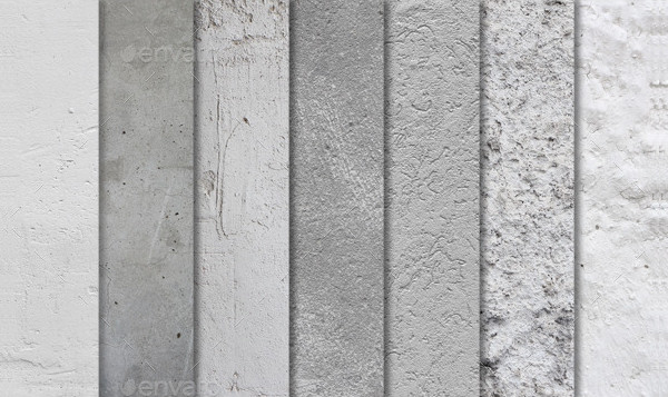 10 High-Resolution Concrete Textures