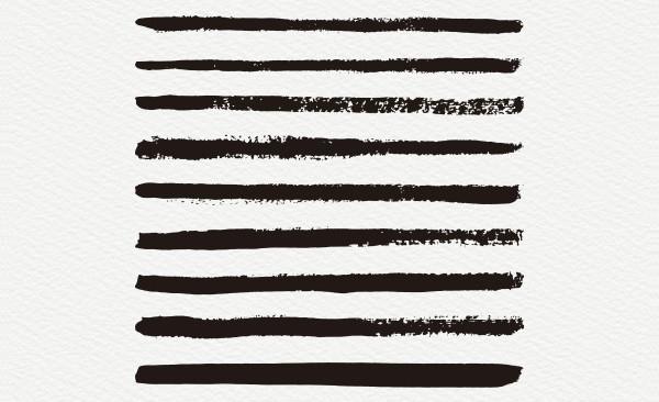 120 Sketch Art Pencil Brushes