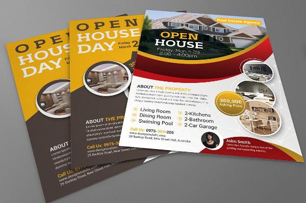 Best Open House Flyer Design