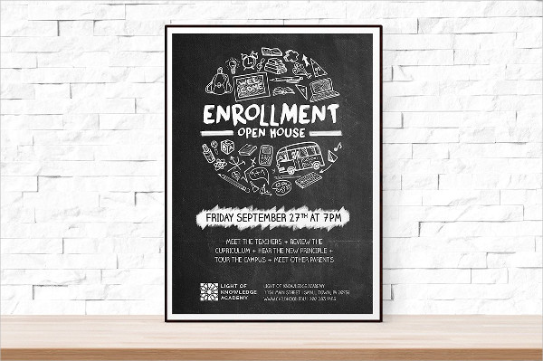 Open House School Flyer Template