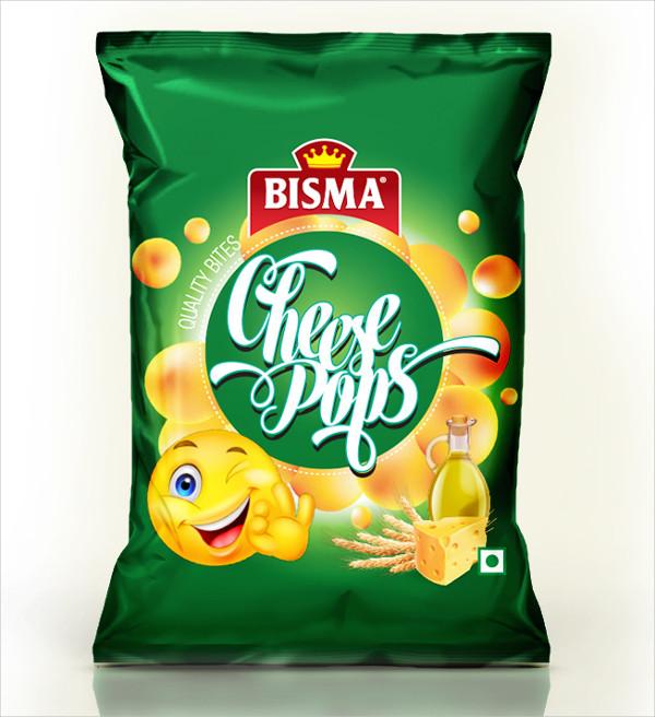 Bag of Chips Mockup Free Download