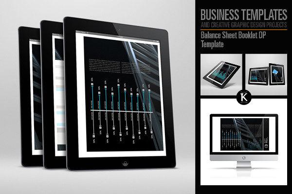 Balance Sheet Booklet DP Template