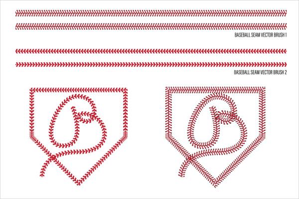Baseball Sports Badges & Patterns