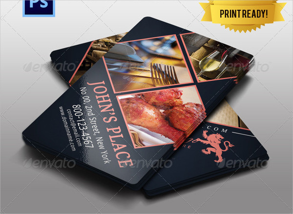 Best Chef Business Card Template