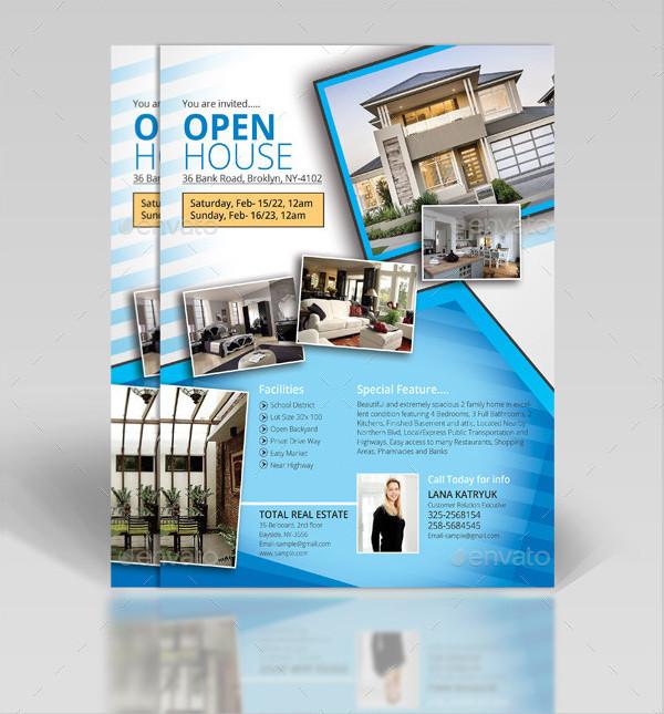 Multipurpose Open House Real Estate Flyer