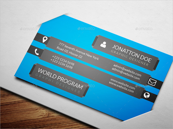 Chef Personal Business Card Template