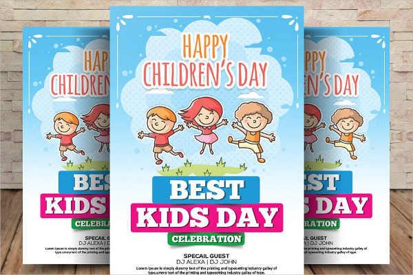 Children or Daycare Flyer Templates