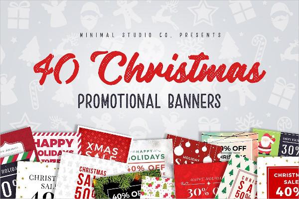 Christmas Promo Banners Design
