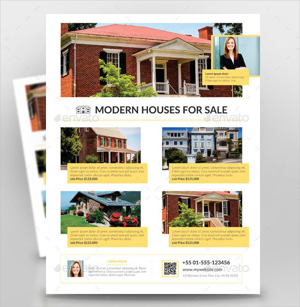 Clean Houses for Sale Flyer Template