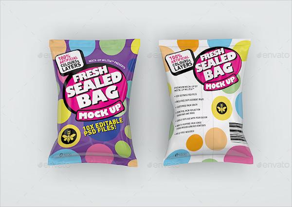 Multipurpose Sealed Bag Mockup