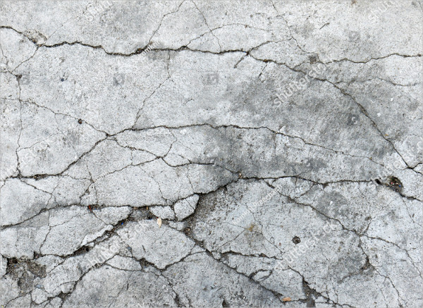 Cracked Concrete Texture Closeup Background