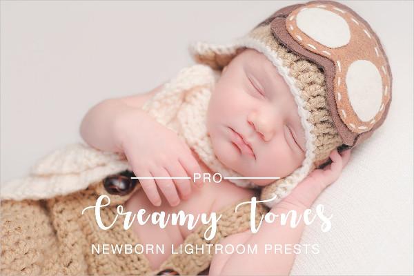 Creamy Tones Newborn Photoshop Actions