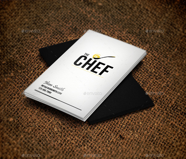 Creative Chef Business Cards