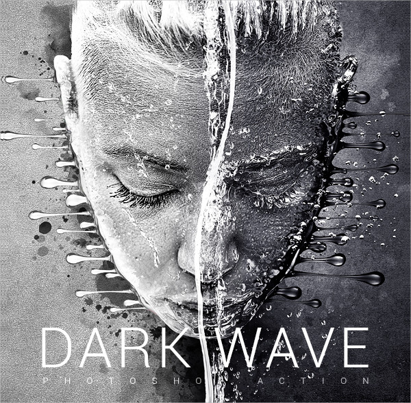 Dark Wave Photoshop Action