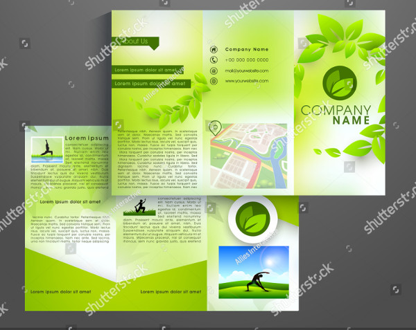 Professional Yoga Brochure Template