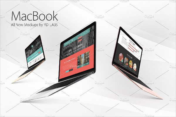 Editable MacBook Mockups