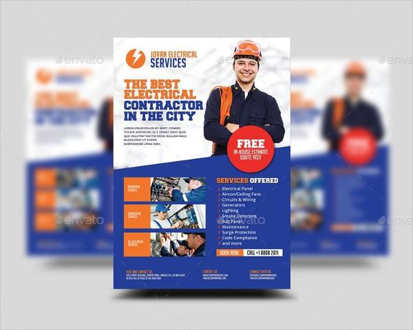 Electrical Appliances Services Flyer
