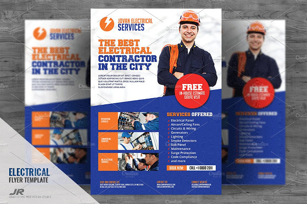 Electrical Contract Services Flyer