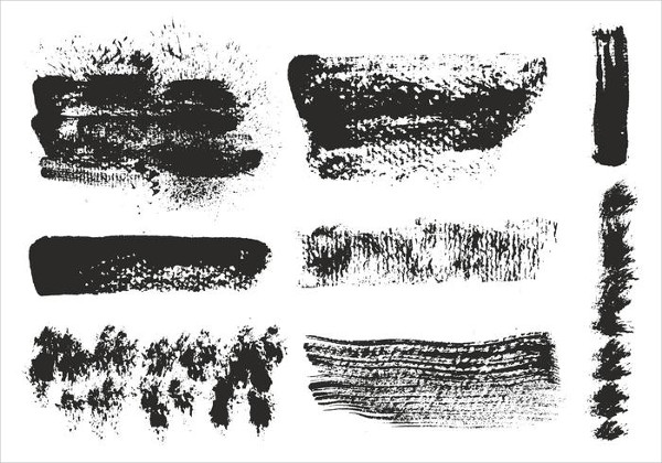 Eroded Art Strokes Brushes Free Download
