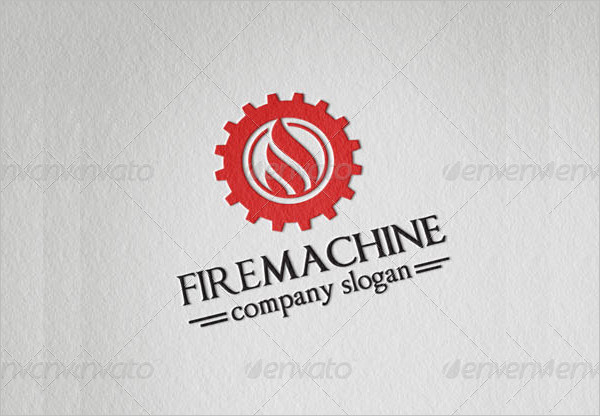 Fire Machine Company Logo