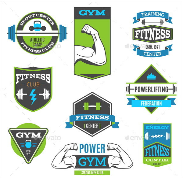 Fitness And Sport Badges